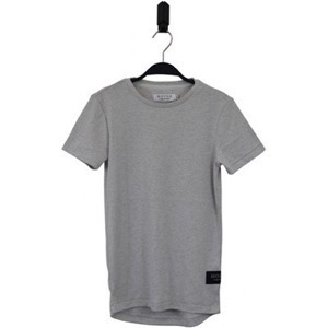 HOUNd - T-shirt - Longline, grey mix