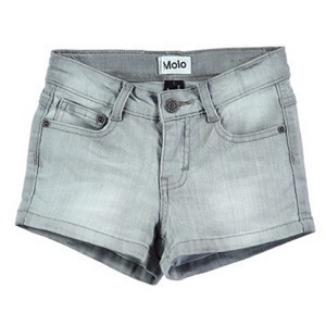 Molo - Alisha Shorts, Sea Spray