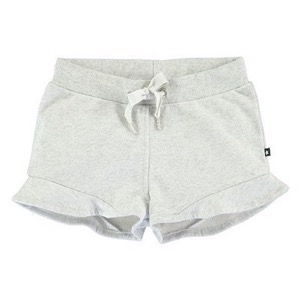 Molo - Ally Shorts - Light Grey Melange