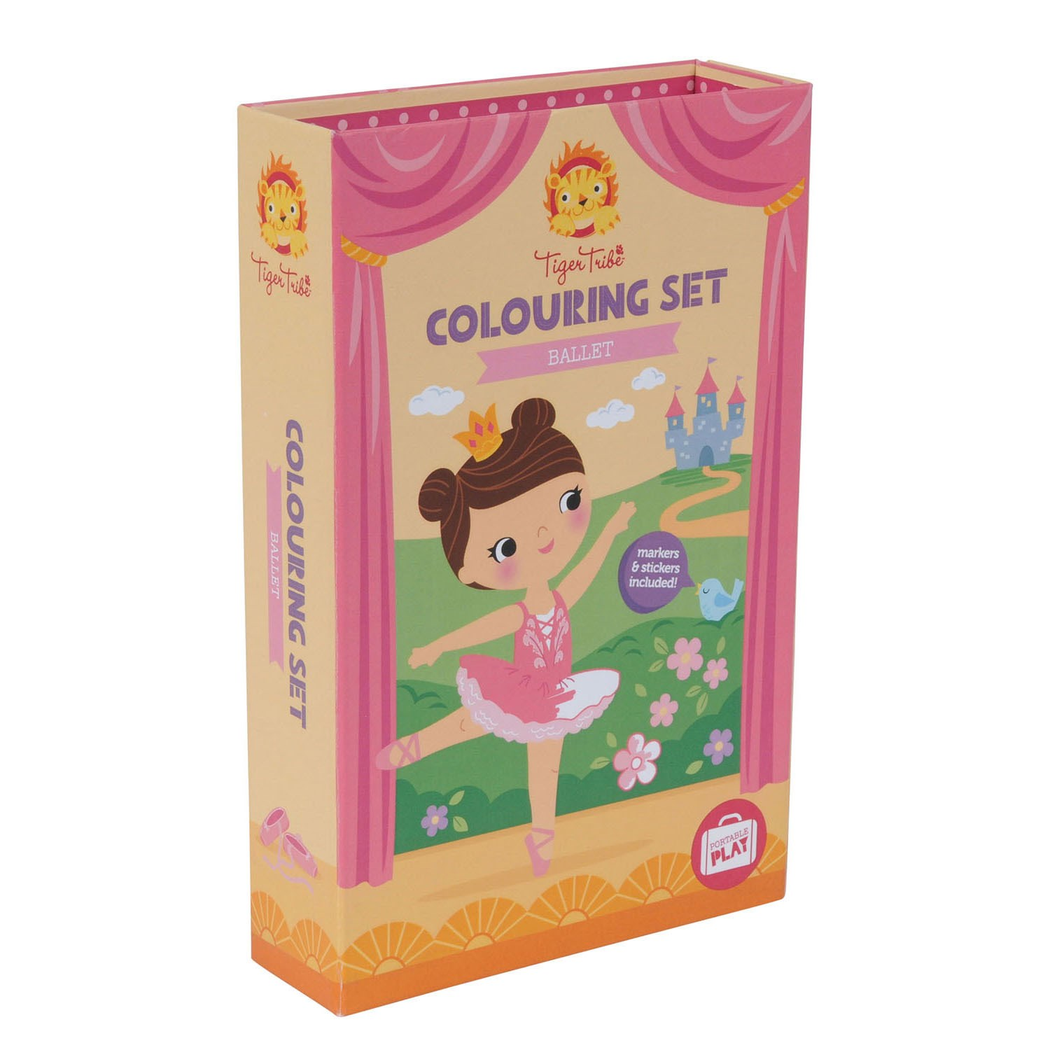 Tiger Tribe - Colouring Set, Ballet