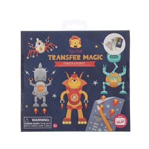 Tiger Tribe - Transfer Magic - Create A Robot
