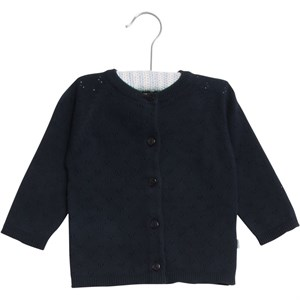 Wheat - Strik Cardigan Maja, Navy