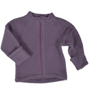 Mikk-Line - Wool Baby Jacket, Flint