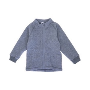 Mikk-Line - Wool Jacket, Melange Grey