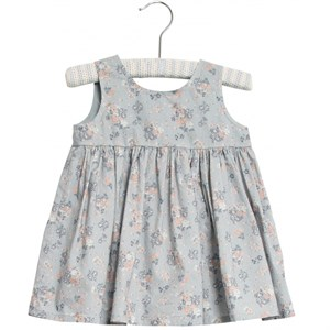 Wheat - Pinafore Wrinkles, Pearl Blue Flowers