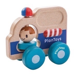 PlanToys - Ambulance i træ