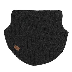 Melton - WOOL - Neckwarmer / Halsedisse, Dark Grey Melange
