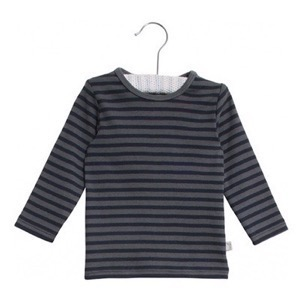 Wheat - T-Shirt Striped LS, Turbulence