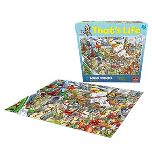 That's Life - Amusement Puzzle - 1000 Brikker