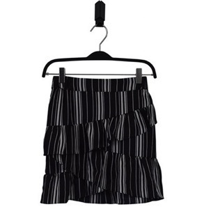 HOUNd Girl - Wrap Skirt, Black/White