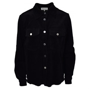 HOUNd Girl - Corduroy Shirt Jacket, Black