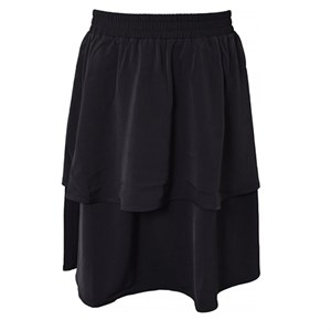 HOUNd - Ruffle Skirt, Black