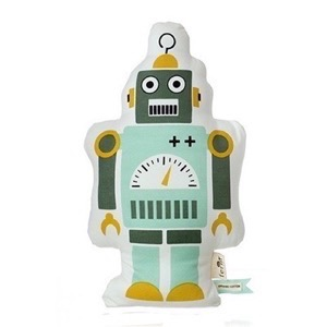 Ferm Living - Mr. Small Robot Cushion