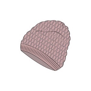 Wheat - Beanie Malinka, Rose Powder