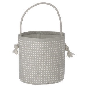 Ferm Living - Grey Cross Basket - Mini