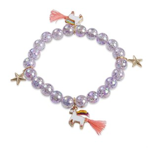 Great Pretenders - Unicorn Star Armbånd, Lilla