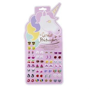 Great Pretenders - Unicorn Ørering Stickers 30 par