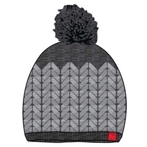 Mikk-Line - Lamb Wool Hat, Dark grey melange