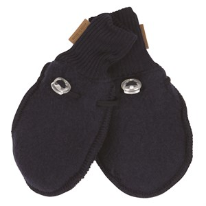 Mikk-Line - Wool Mittens / Luffer, Blue Nights