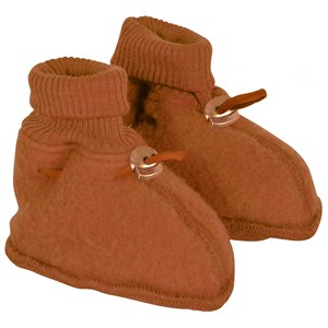Mikk-Line - Baby Footies, Leather Brown