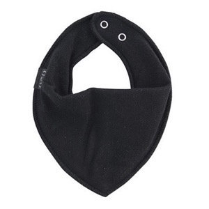 Mikk-Line - Cotton Bibs Triangle, Black