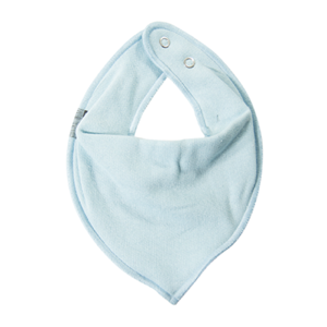 Mikk-Line - Cotton Bibs Triangle, Aqua