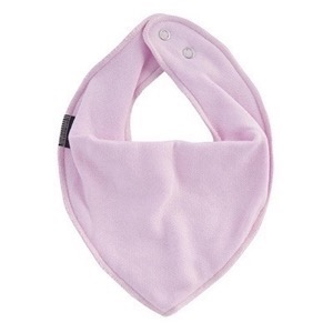 Mikk-Line - Cotton Bibs Triangle, Baby Pink