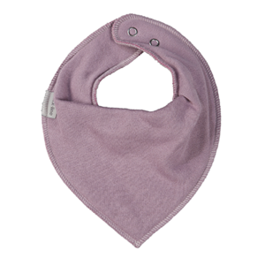 Mikk-Line - Cotton Bibs Triangle, Dusty Rosebon