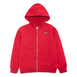 Levi's Kids - Washed Zip Up Hoodie, Chili Pepper