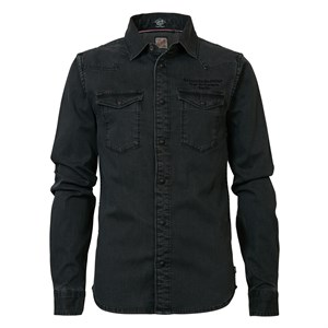 Petrol Industries - Shirt LS, Raven Grey