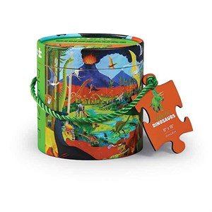 Crocodile Creek - 24 pc Mini Canister - Land of Dinorsaur