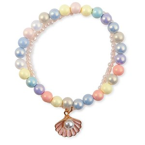 Great Pretenders - Pastel Shell Armbånd