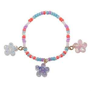 Great Pretenders - Shimmer Flower Armbånd