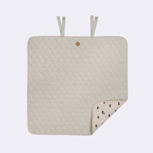 Ferm Living -  Grey Cross Changing Blanket