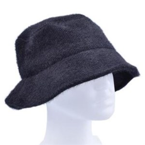 Höjtryk - Knitted Bucket Hat, Black
