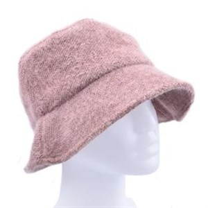 Höjtryk - Knitted Bucket Hat, Rose