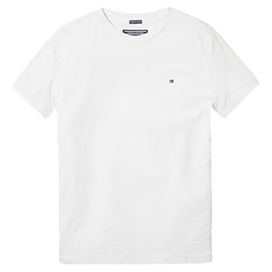 Tommy Hilfiger - Boys Basis T-shirt SS, Bright White