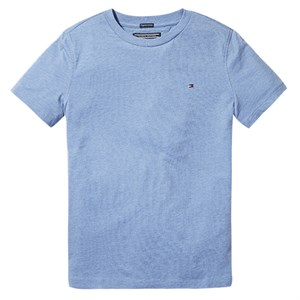 Tommy Hilfiger - Boys Basis T-shirt SS, Dark Allure Heather