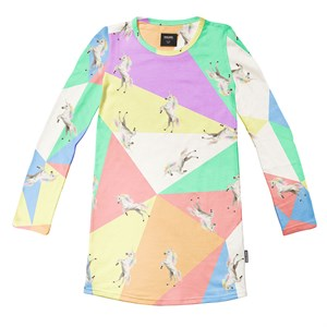 Snurk - Unicorn Disco Dress LS