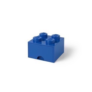 Lego Drawer brick 4 - Blå