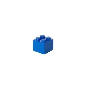 Lego Storage Mini Box 4 - Blå