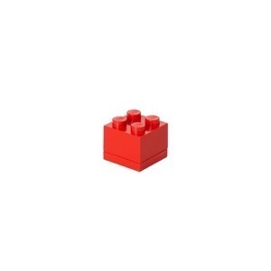 Lego Storage Mini Box 4 - Rød