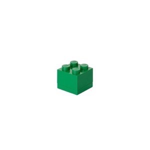 Lego Storage Mini Box 4 - Grøn