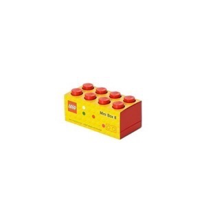 Lego Storage Mini Box 8 - Rød