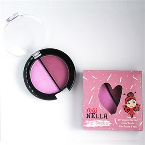 Miss Nella - Eyeshadow Duo, Lavender Fields