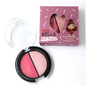 Miss Nella - Eyeshadow Duo, Pink Skies