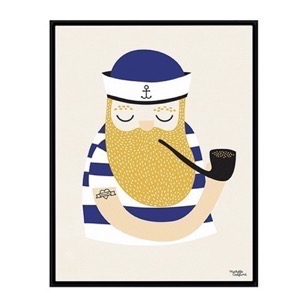Michelle Carlslund  Little Sailor - plakat A4