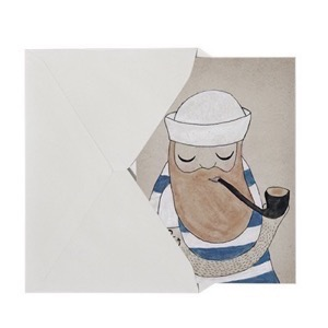 Michelle Carlslund  Little Sailor - Kort A5