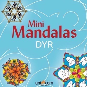 Unicorn - Mini Mandalas Dyr