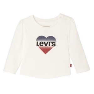 Levi's Kids - Girls Hearty T-shirt LS, Nickel